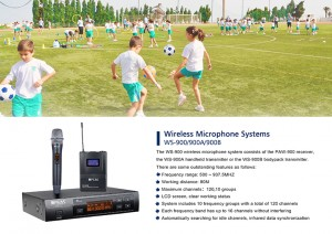 Wireless Microphone System WS-900 / 900A / 900B