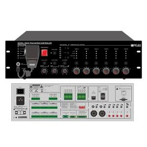 ENVA-6240 240W 6 Zones Voice Evacuation System Host