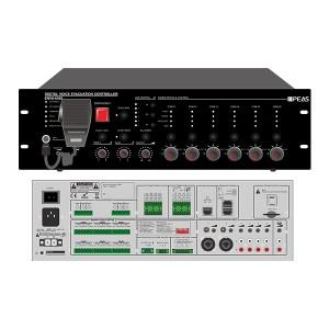 ENVA-6500 500W 6 Zones Voice Evacuation System Host