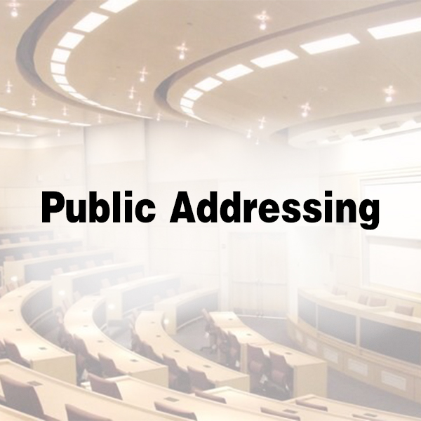 Public Addressing