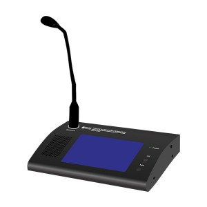 RM-6120T 120 Zones Touch screen Remote paging MIC