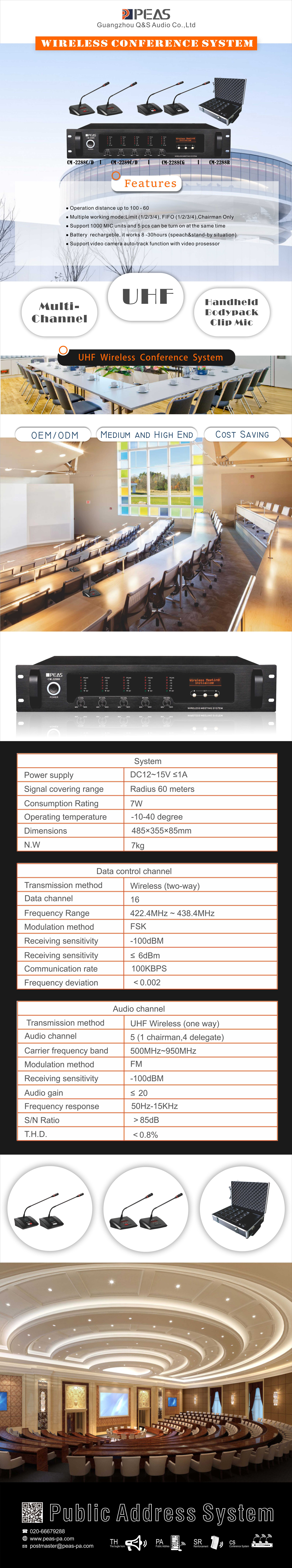 Wireless-Conference-System