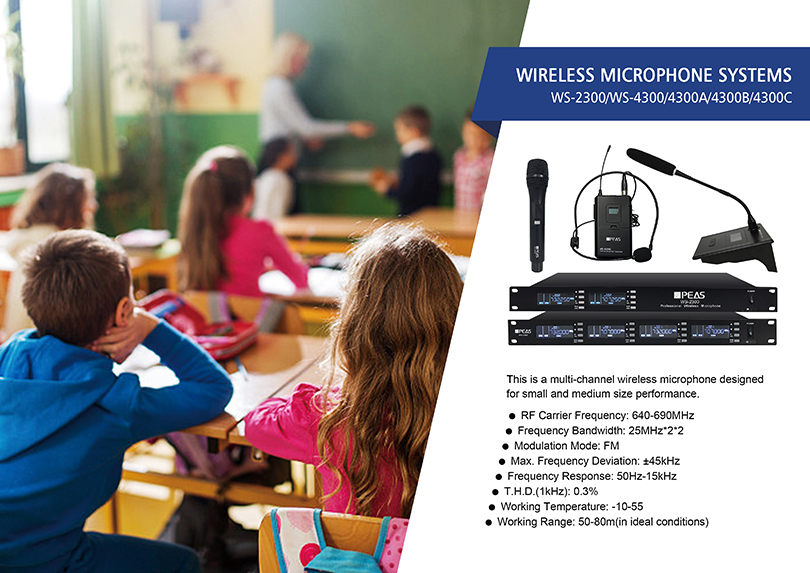 Multi-Channel Wireless Microphone System