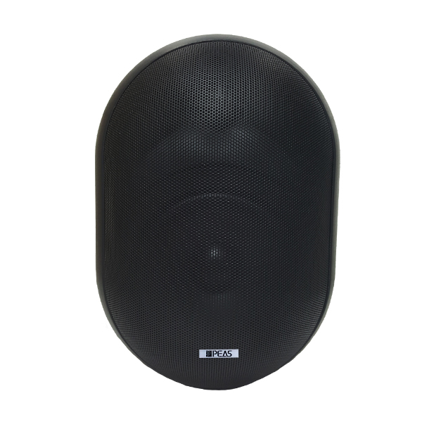 WS860 60W/8ohm Wall-mount round speaker with power tap